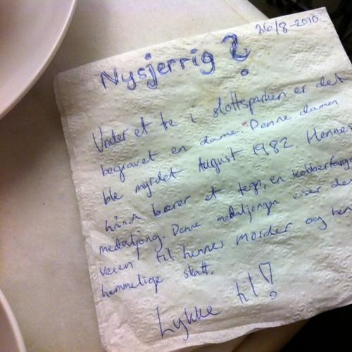 ideas on a piece of paper creativity