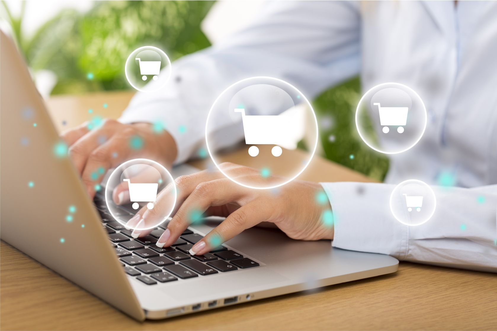 How does the online catalog's design affect sales?