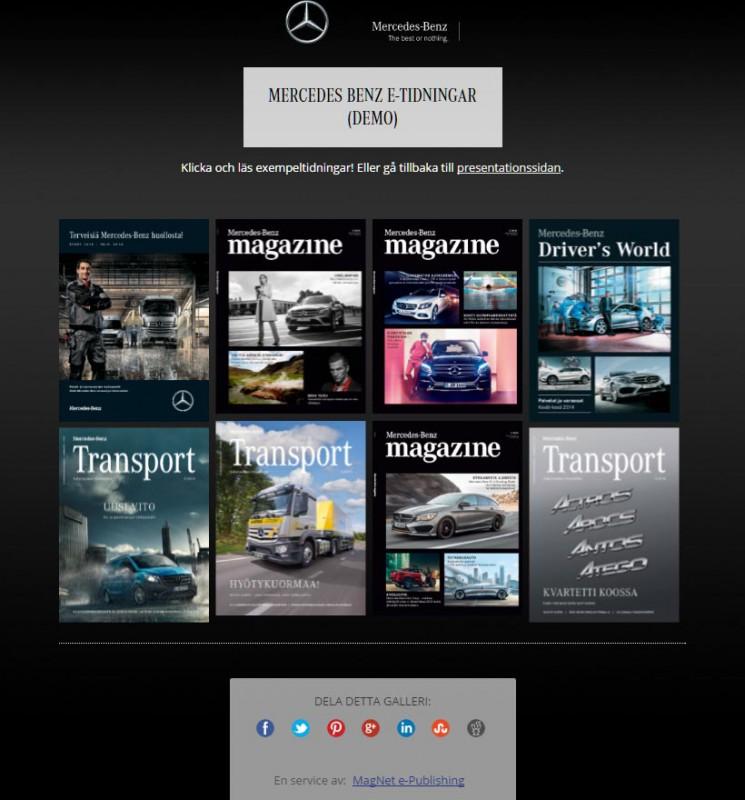 Mercedes-Benz GalleryPage