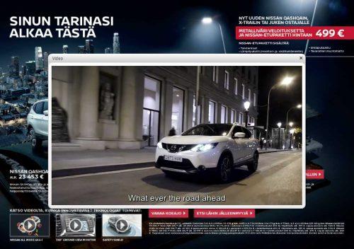Nissan videodemo