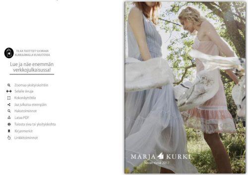 Marja Kurki eCommerce